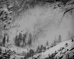 Half Dome in Winter, Yosemite National Park, California, USA photo by Xindaan