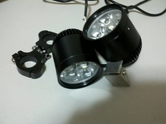 Pair of 24w 1500 lumen LED driving lights.