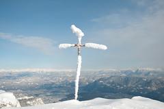 Gipfelkreuz am Roen
