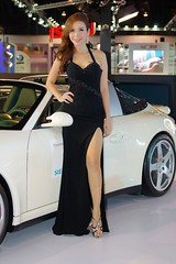 Girls and cars - another motor show in Bangkok photo by UweBKK (α 77 on )
