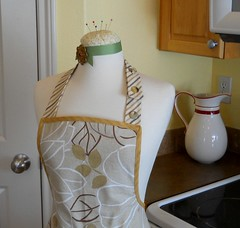 Heavy Duty Natural Tone Vintage Style Adjustable Apron photo by Geneva Designs