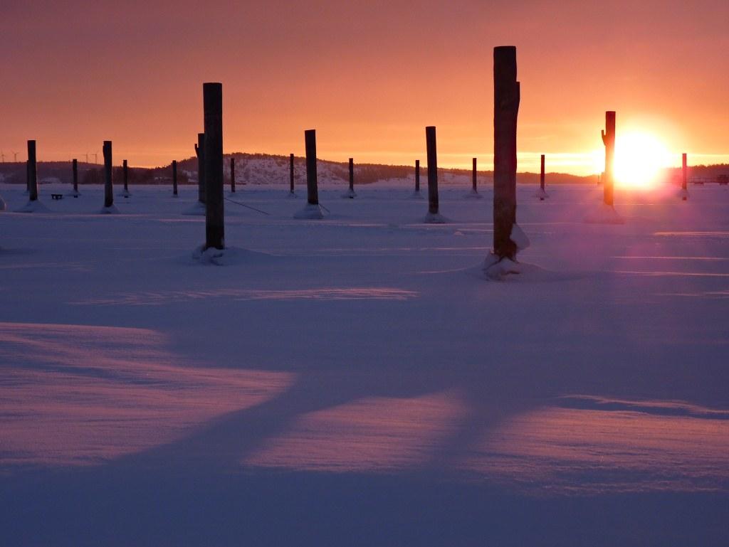 Sunrise in Mariehamn photo by evisdotter