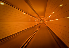 Rotterdam Meetup (and V): Guide me to the End of this Tunnel… photo by B'Rob