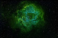 Rosette, NGC2244 with NB filters 11h20 exposure photo by Trois_Merlettes