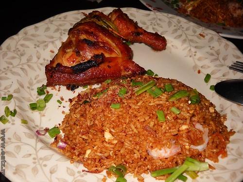 Ayam Pandan Fried Rice