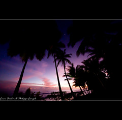 Dusk on the beach - Osa peninsula - Costa Rica photo by Lucie et Philippe