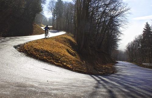 Route to Col de la Croisette