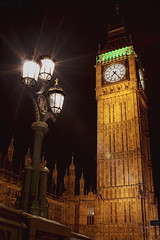 The Palace of Westminster Clock Tower photo by TheFella