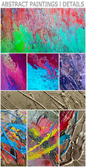 Abstract Paintings - Details photo by Ben Heine