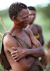Bushmen, Botswana photo by Dietmar Temps
