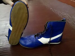 i think they r russian wrestling shoes photo by sammysr text me 4195517727