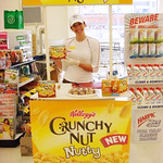 Crunchy Nut Demonstration Table