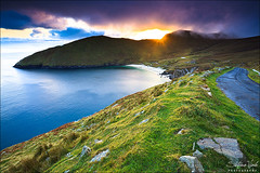 Sunset at Achill Island photo by Stefano Viola
