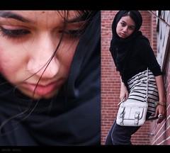 self portraits photo by Amina Seyal