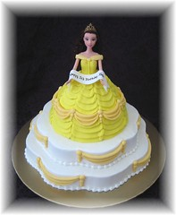 Belle Barbie Doll photo by Cake Diane Custom Cake Studio (eyedewcakes)