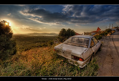 288/365 - HDR - Crete - ScrapSunset.@.1250x800 photo by Pawel Tomaszewicz