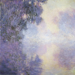 Claude Monet - Arm of the Seine near Giverny in the Fog at Kreeger Art Museum Washington DC photo by mbell1975