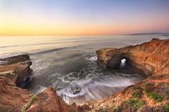 Sunset Cliffs Sea Cave, San Diego photo by sameermundkur