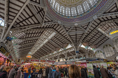 Central Market – Mercado Central, Valencia (Spain), HDR photo by marcp_dmoz