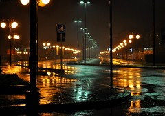 rainy night photo by annibale barone