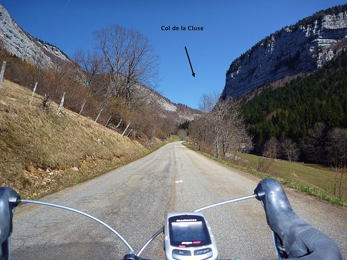Route to Col de la Cluse