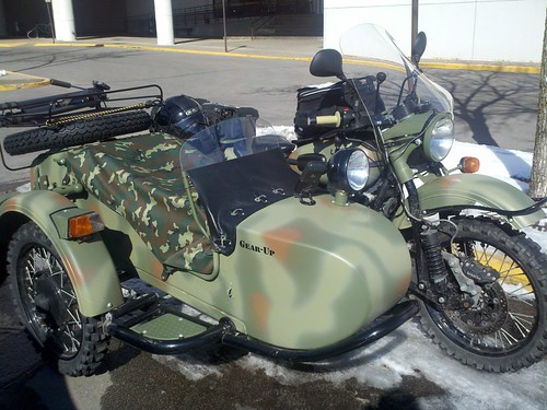 Ural 3/3 at lois pryce talk