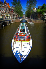Here come the tourists - Amsterdam channel cruise photo by kees straver (will be back online soon friends)