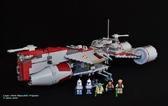 Star Wars Lego 7964 Republic Frigate photo by KatanaZ