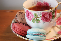 Tea & Macaroons photo by Kait Souch