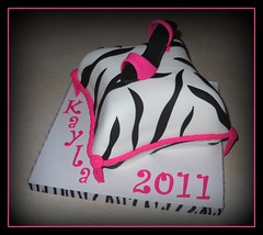 Graduation Pillow Diva Cake photo by It's All About the Cake