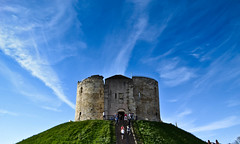 Clifford tower,York photo by Prashob kumar Nair