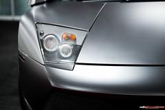 Matte black Murcielago by Garage Works and Avante Garde Motorsports photo by nathansmithphoto