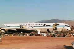 Boeing 707-321B  N880PA Pan Am, Tucson - Davis-Monthan AFB - USA, February 17 2007. photo by ATom.UK