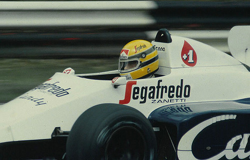 Ayrton Senna - Toleman F1 Brands Hatch