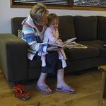 Reading with Nanny<br/>11 Apr 2011