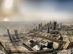 Dubai - vue de Burj Khalifa - 18-06-2011 - 17h45 photo by Panoramas