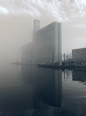 Canada Malting co. in the Fog photo by syncros