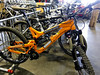 Rental bikes wait to hit the Jackson Hole bike park this Saturday for opening day
