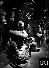 Statues In the 1000 Pillar Sanctum photo by Bhargavii Mani
