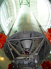 Actual Titan missile used to launch satellites