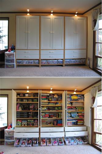 playroom cabinets