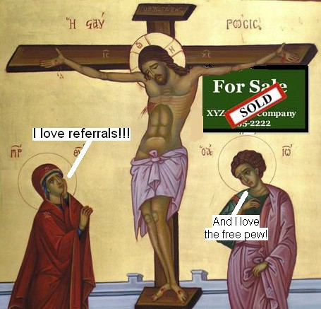 crucifixion real estate