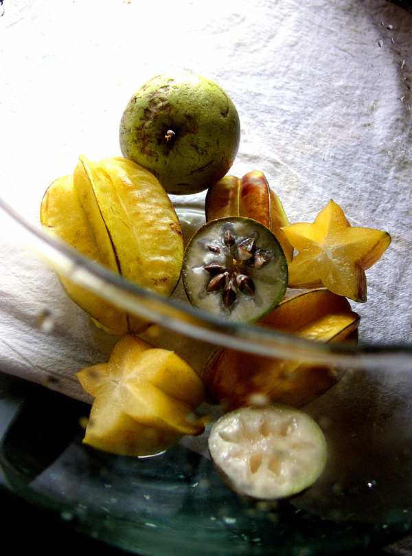 star apple, star fruit