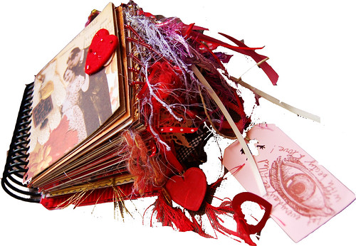 vintage valentine chunky book
