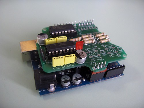 Motor Shield for Arduino- Shield for Arduino based on