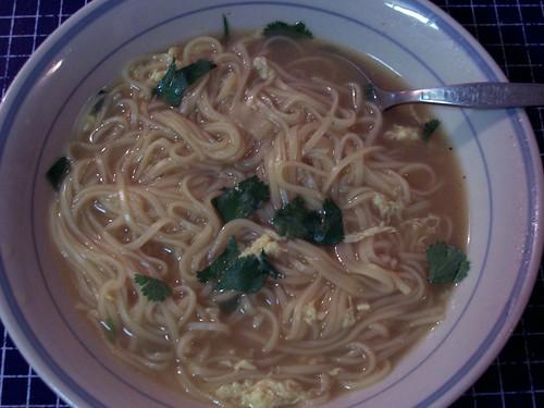The Clone's Miso & Egg Noodle Soup