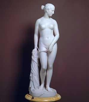 greek slave statue
