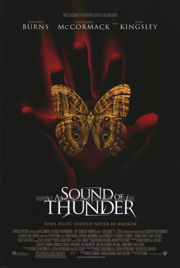 Sound of thunder ray bradbury