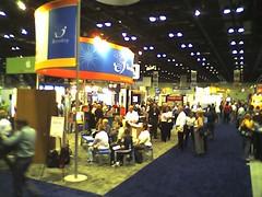 .0001% of the exhibitors area