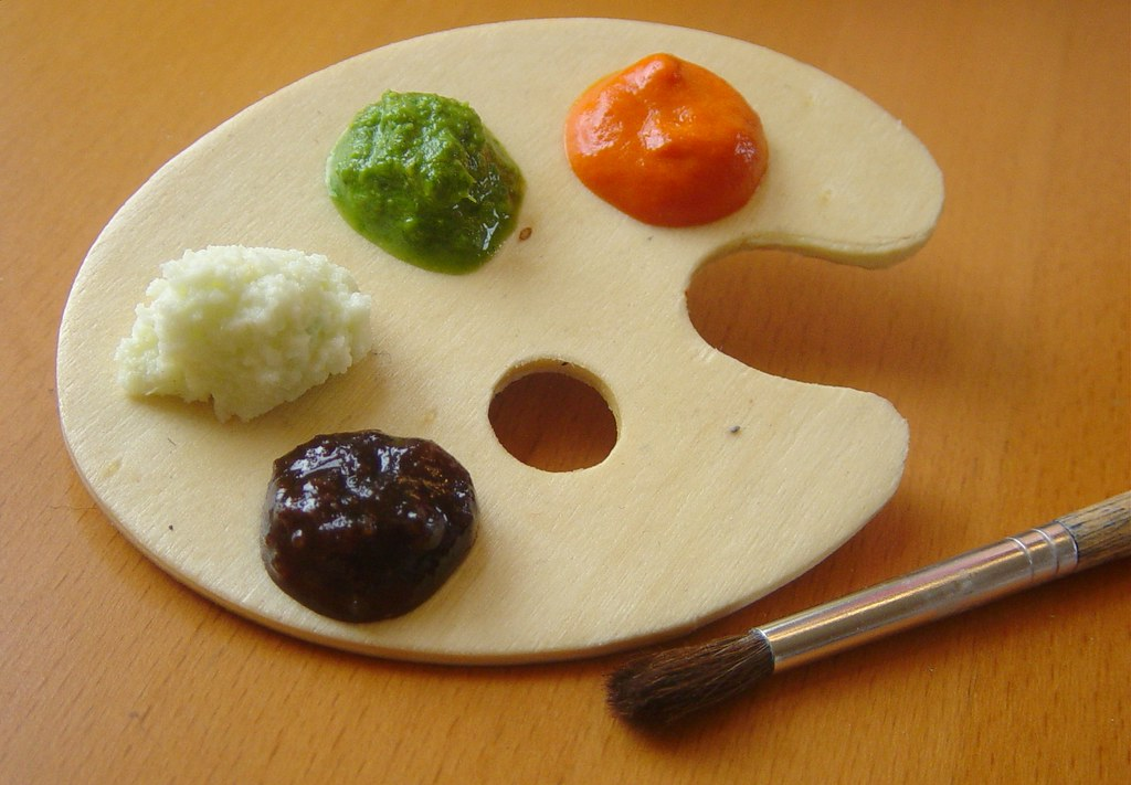 palette of chutneys